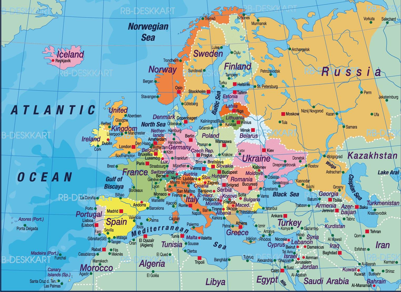 Borta Bra Bilsemester I Europa